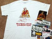 Blood Letter T-Shirt  w/ Sticker Pack & 5x7 Print photo