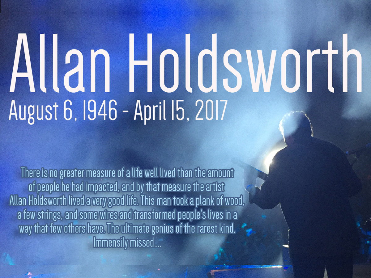 Crack In The Sky | Tribute To Allan Holdsworth