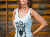 "Women Tank Top ""Sonne"" (White) photo"