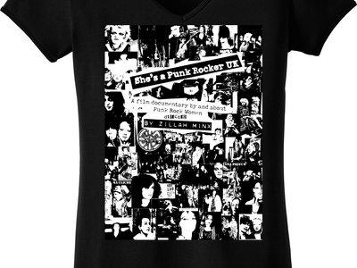 """She's a Punk Rocker UK"" T.shirts main photo"