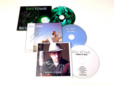 3 Autographed Healing CDs - SAVE 70% OFF NOW WITH FREE SHIPPING! main photo
