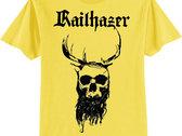 Railhazer - Horned King T-Shirt [Black on Yellow & Black on Heather Grey] photo