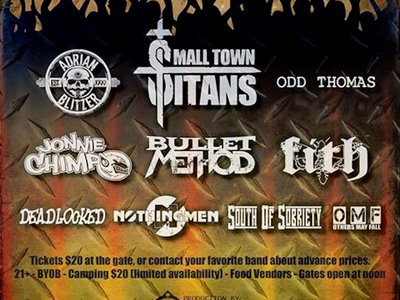 Will call ticket bundle for Aug 19 - Roast on the River 2017 & Sept 10 - w/  P.O.D. & Alien Ant Farm main photo