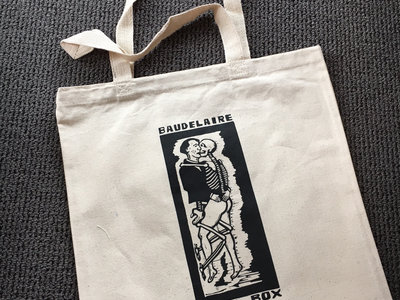 Baudelaire In The Box Canvas Tote Bag main photo