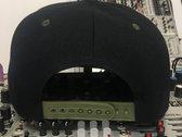 """Acid"" Waveform Hat (Snapback Flat Bill) in CAMO photo"