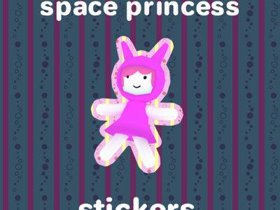 Space Princess sticker main photo