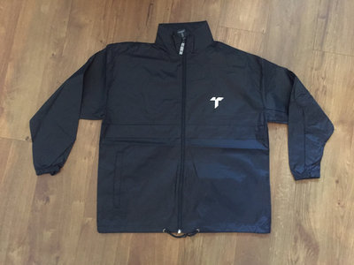Single Layer Rainproof Jacket - Black main photo
