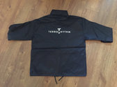 Single Layer Rainproof Jacket - Black photo