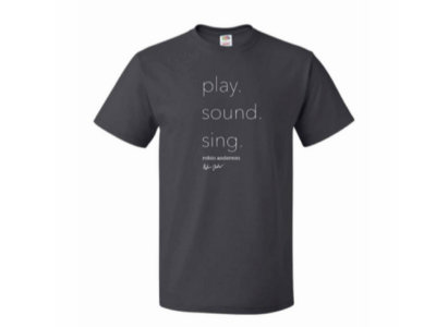 Play, Sound, Sing T-Shirt main photo