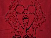 Kim Powderpuff Red T-Shirt photo