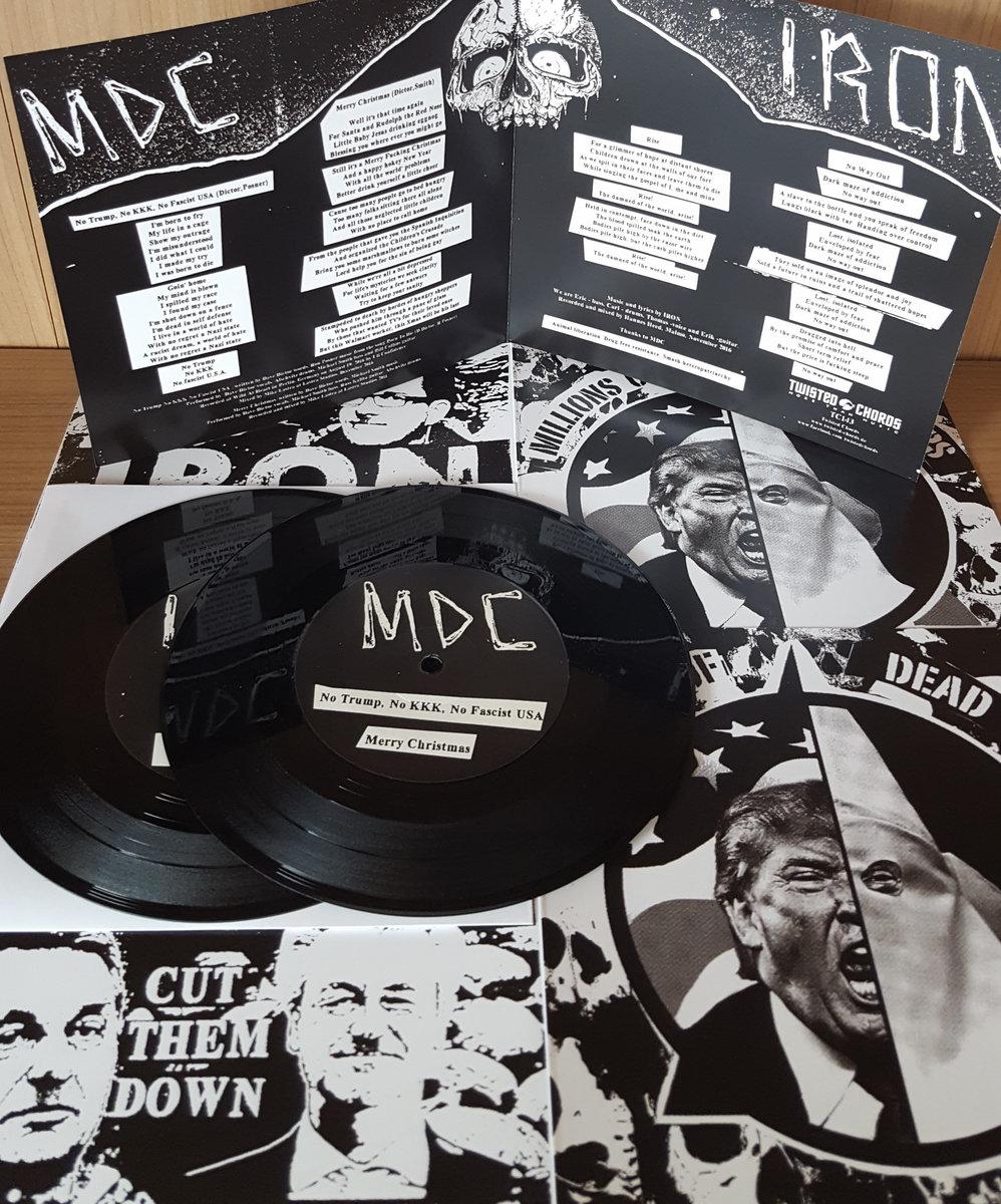 MDC - No trump no kkk no fascist usa | Twisted Chords