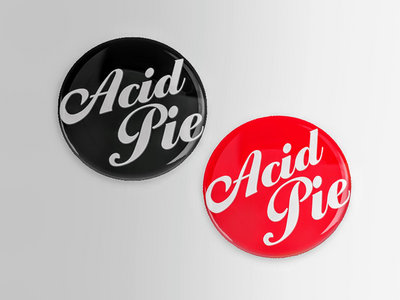 Acid Pie - 2 Pack Pin Buttons w/Logo main photo
