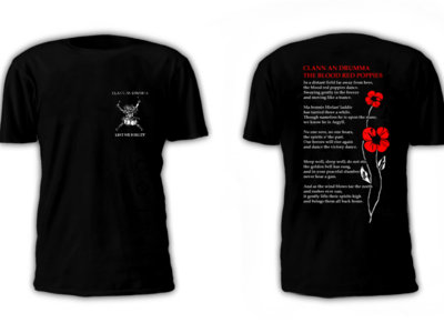 Blood Red Poppies T-shirt main photo