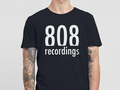 808 Recordings Black Tshirt main photo
