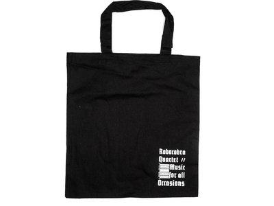 Black Barcode Tote Bag main photo
