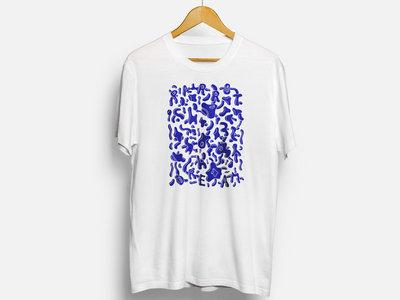 Parrot Dreeam T-shirt (Blue, Red, Fluorescent Neon) main photo