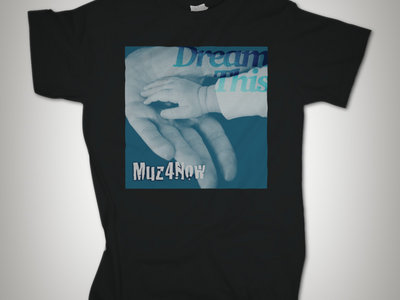 #DreamThis T-shirt (black) main photo