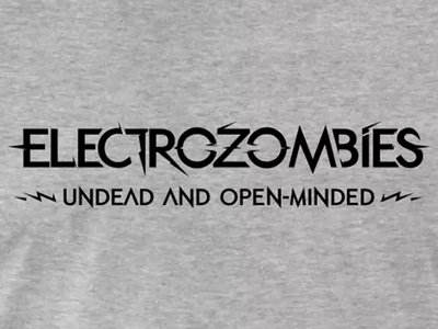 'Undead And Open-Minded' T-Shirt main photo