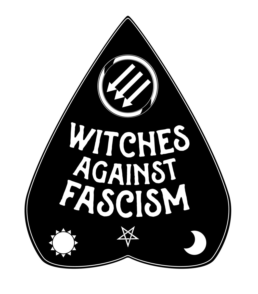Witches Against Fascism Pin | Curse of Cassandra