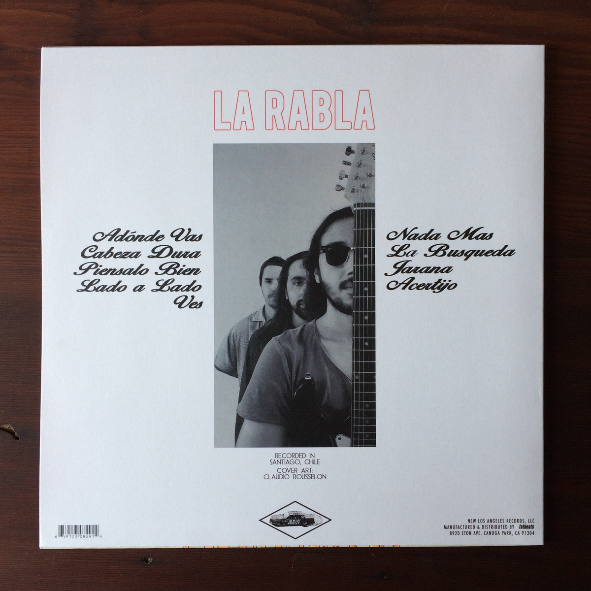 La rabla new los angeles la rablas self titled debut album on limited edition virgin vinyl with cover illustration by claudio rousselon of mexico printed on heavyweight malvernweather