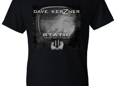 Dave Kerzner Static Tour 2017-2018 T-Shirt main photo