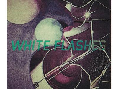 White Flashes - Logo Sticker main photo