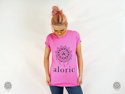 'ALORIC' Pink T-Shirt // Unisex main photo