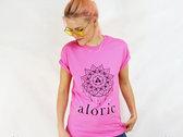 'ALORIC' Pink T-Shirt // Unisex photo