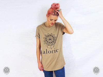 'ALORIC' Longline Gold T-Shirt // Unisex main photo