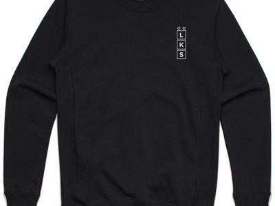 Low Key Source logo black sweatshirt main photo