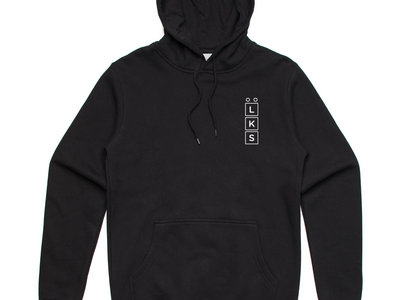 Low Key Source logo black hoodie main photo