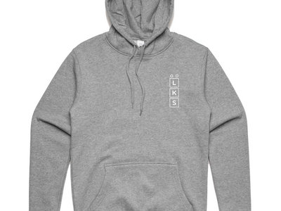 Low Key Source logo grey hoodie main photo