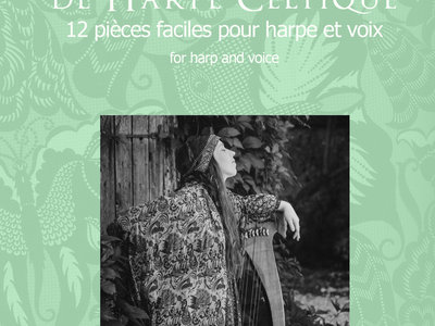 Mon Carnet de Harpe Celtique (PDF) sheet music - recueil de partitions main photo