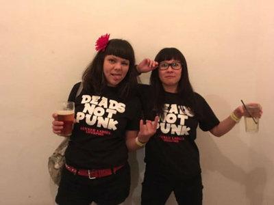 Dinner Ladies 'Dead's Not Punk' T.Shirt main photo