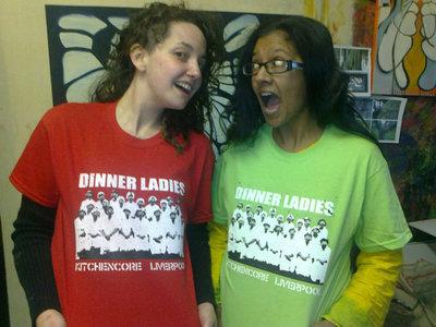 Dinner Ladies 'Kitchencore Liverpool' T. Shirt main photo