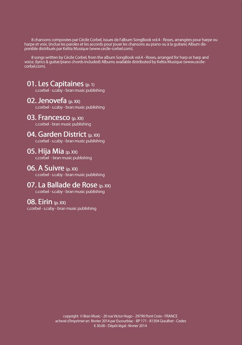 cecile corbel songbook vol 4