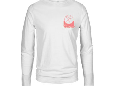 Long Sleeved Logo Tees With Pink Double Sided Print main photo