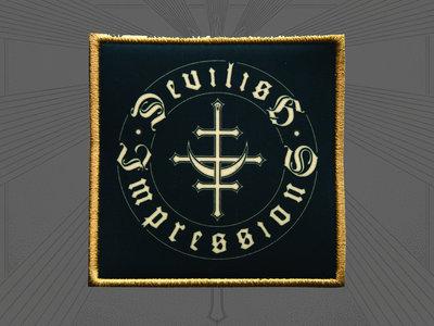 Devilish Impressions - round logo Patch main photo