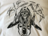 """Randy Nunchuck Fuck You up!"" T-shirt photo"