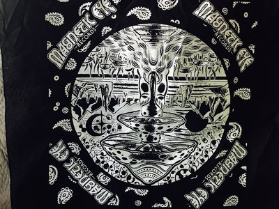 Magnetic Eye Records Mushroom Bandana - Black main photo