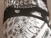 Magnetic Eye Records Mushroom Bandana - Black photo