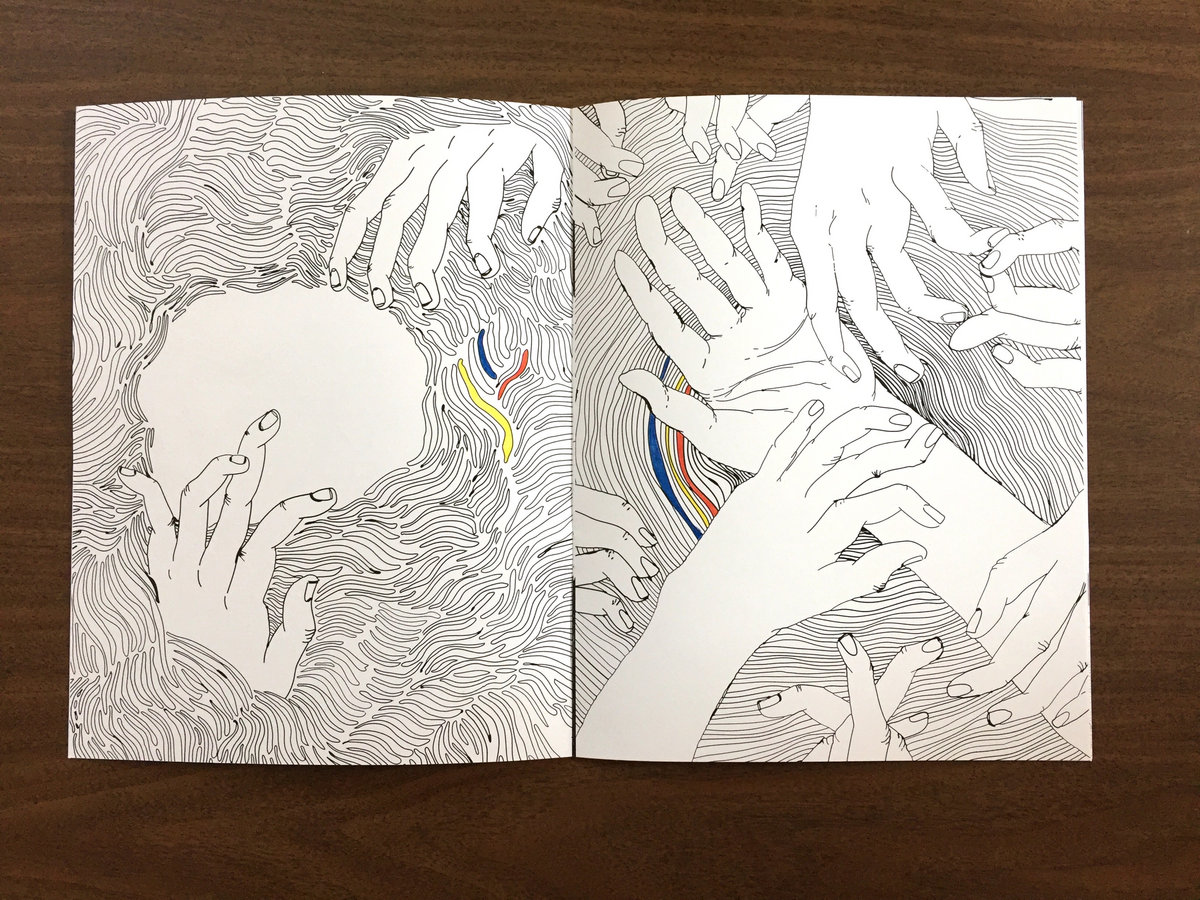 Coloring Book Contains 9 Images Hand Drawn By Allison Sheldon Lawrence KS Denver CO In Response To Some Enlightening Discussion Around The Songs On