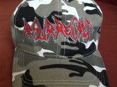 Basecap grey camo w/ embroidered band logo photo