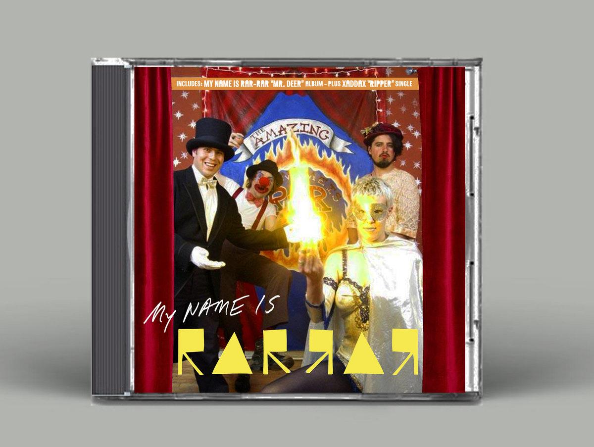 Mr  Deer : Ripper (Cover B: My Name Is Rar-Rar) | SKiN GRAFT Records