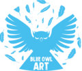 Blue Owl Art image