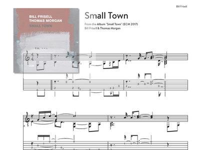 "Small Town - Bill Frisell (""Small Town"" - ECM 2017) main photo"