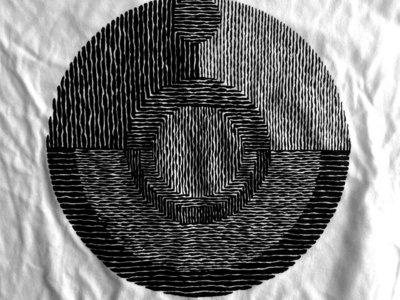 Moon t-shirt (black on white) main photo