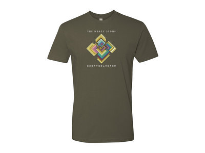 The Mercy Stone T-Shirt - military green (female cut also available) main photo