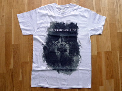 """Praedam"" - white men's t-shirt main photo"