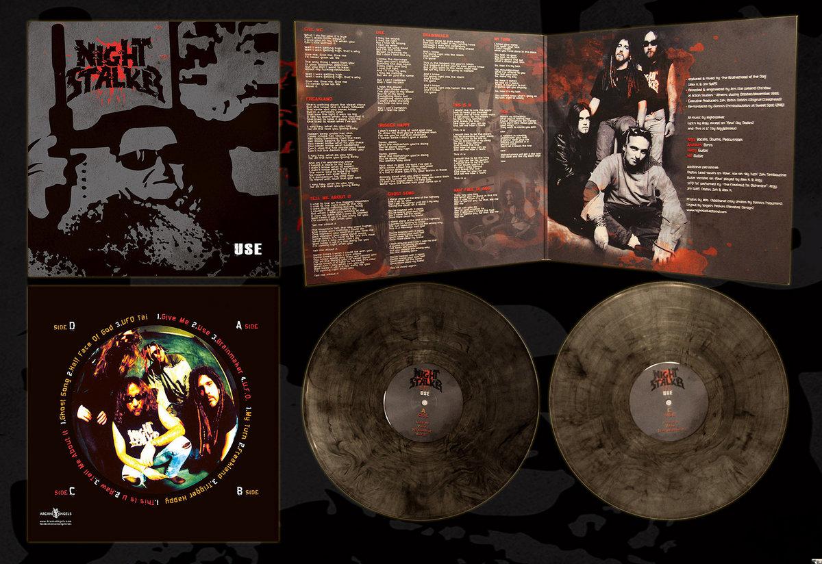 Αποτέλεσμα εικόνας για nightstalker use coloured vinyl reissue